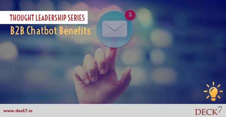 B2B Chatbot Benefits