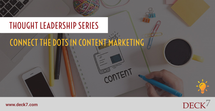 Connect the Dots in Content Marketing
