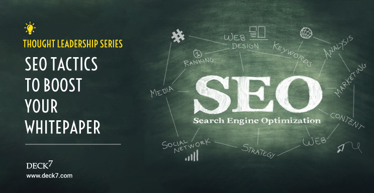 SEO Tactics to Boost Your Whitepaper