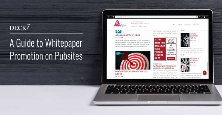 A Guide to Whitepaper Promotion on Pubsites