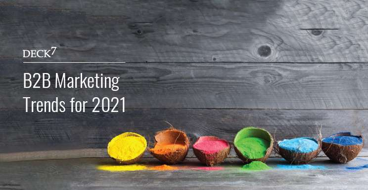 B2B Marketing Trends for 2021