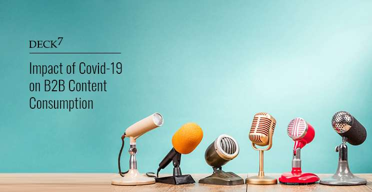 Impact of COVID-19 on B2B Content Consumption