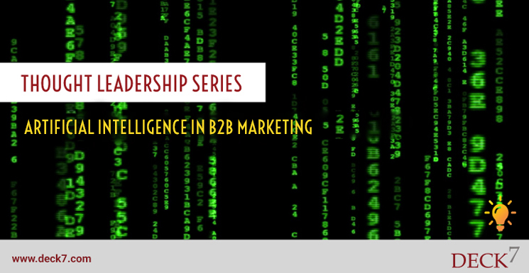 Artificial Intelligence in B2B Marketing
