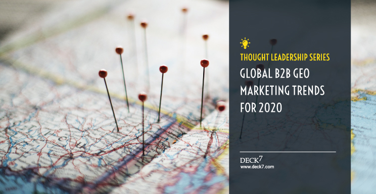 Global B2B Geomarketing Trends for 2020