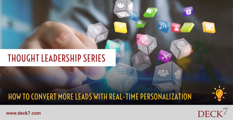 How to Convert More Leads with Real-time Personalization