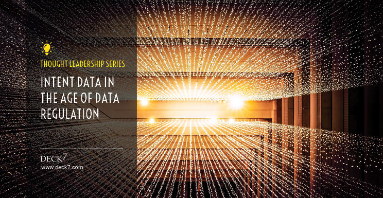 Intent Data in the Age of Data Regulation