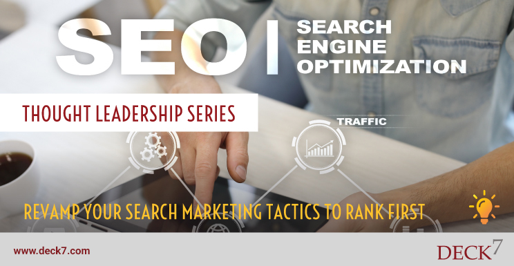 Revamp your Search Marketing Tactics to Rank First