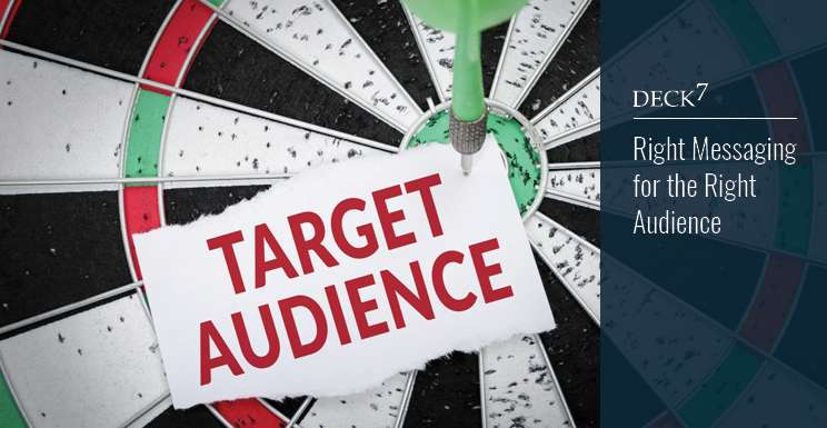 Right Messaging for the Right Audience