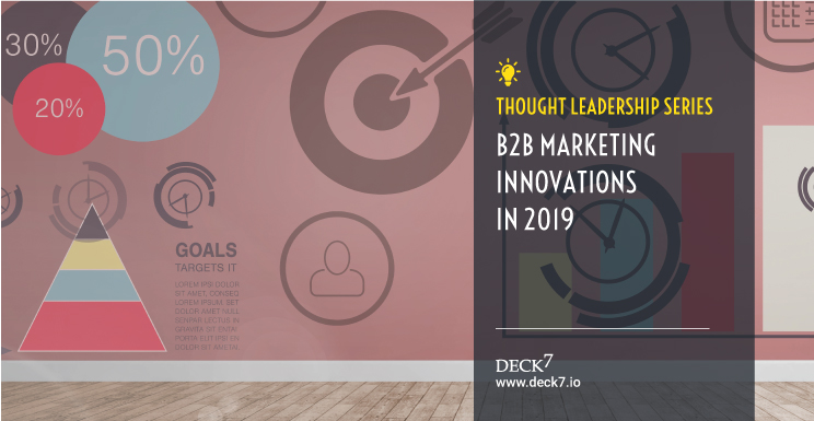 B2B Marketing Innovations in 2019