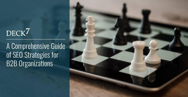 A Comprehensive Guide of SEO Strategies for B2B Organizations