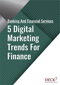 5 Digital Marketing Trends for Finance