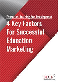4 Key Factors For Successful Education Marketing