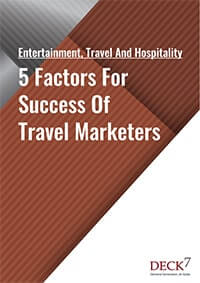 5 Factors For Success Of Travel Marketers
