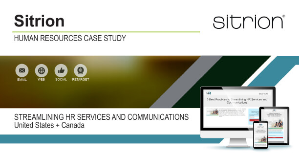 Sitrion: Streamlining Hr Services And Communications Case Study