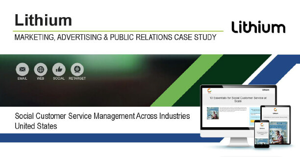 Lithium: Social Customer Service Management Across Industries Case Study