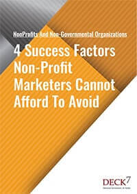 Success Factors Non-Profit Marketers Cannot Afford To Avoid