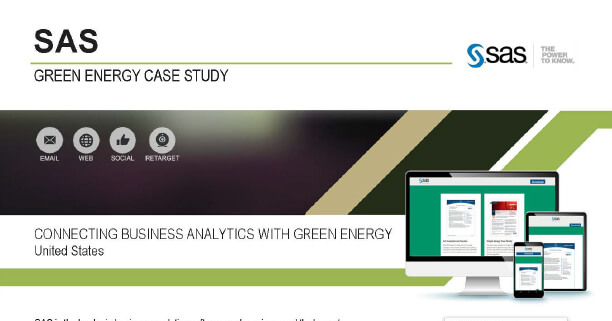 Connecting Business Analytics with Green Energy Case Study Deck 7