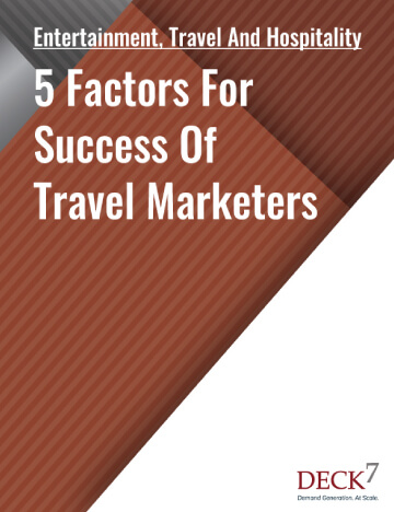 5 Factors For Success Of Travel Marketers  Mobile View