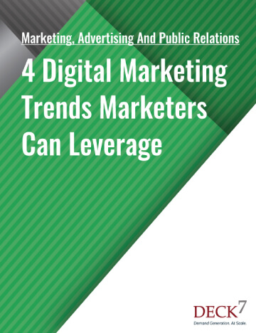 Digital Marketing Trends Marketers Can Leverage Deck 7 Mobile View