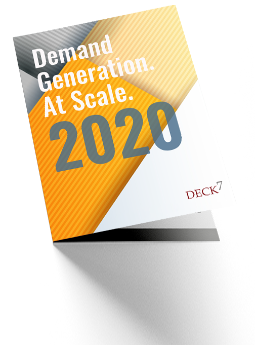 Demand Generation at Scale